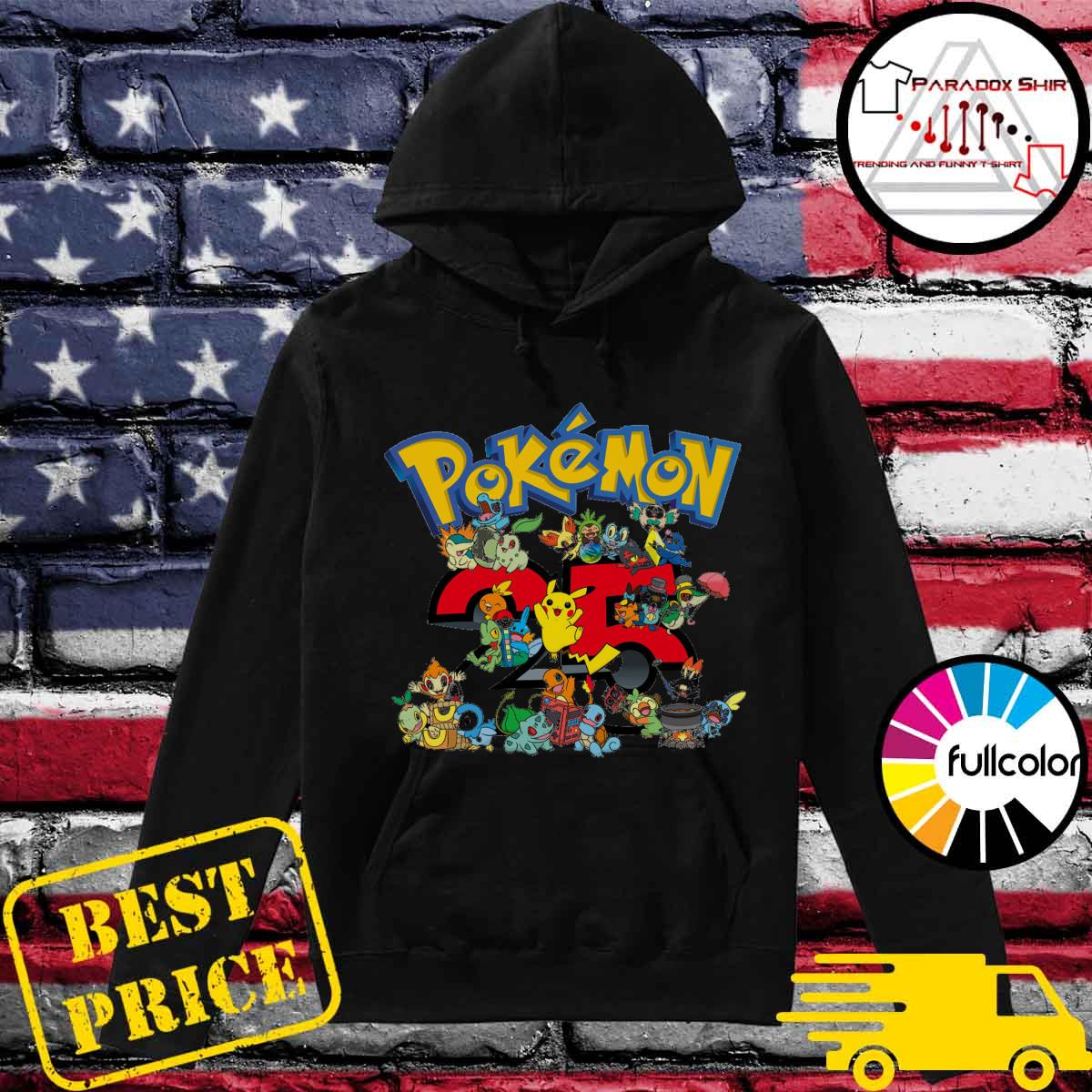 25 years of Pokémon s Hoodie