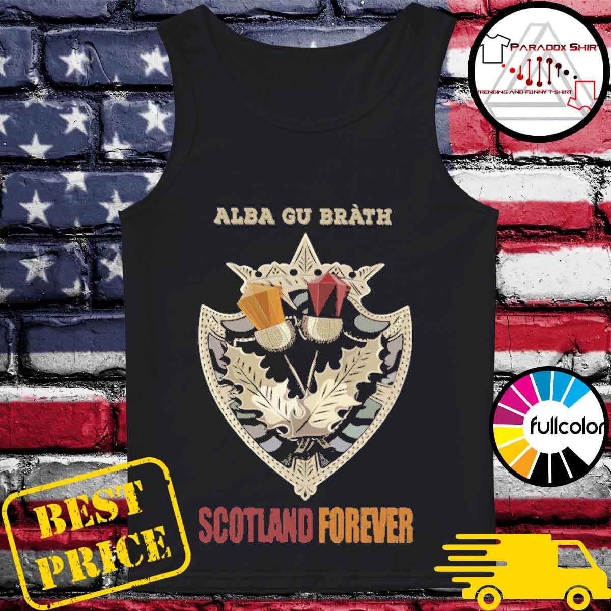 Alba Gu Bràth Scotland Forever s Tank-top