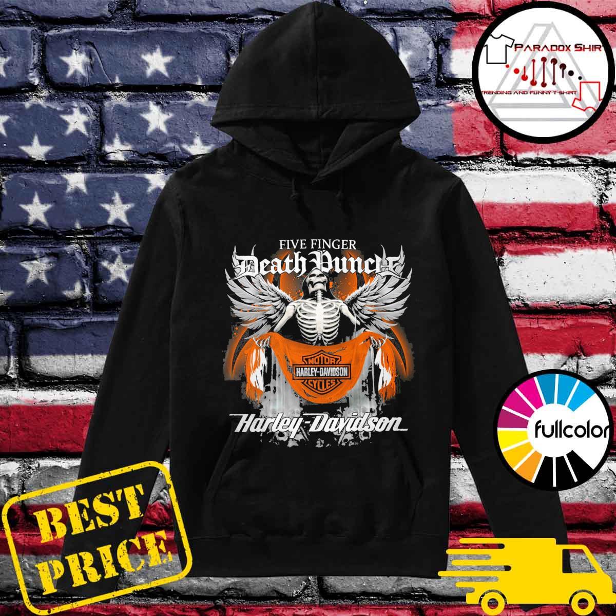 Five Finger Death Punch Motor harley Davidson Cycles Harley Davidson s Hoodie