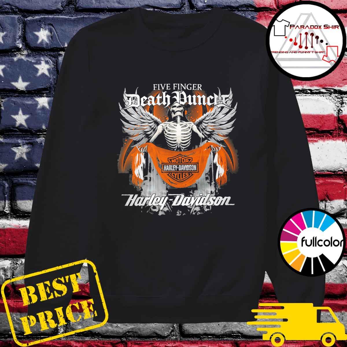 Five Finger Death Punch Motor harley Davidson Cycles Harley Davidson s Sweater