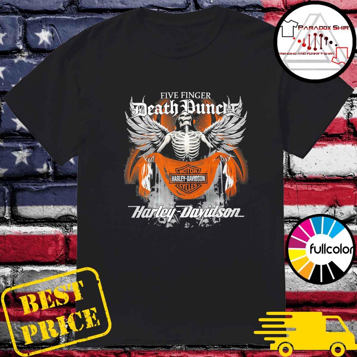 Five Finger Death Punch Motor harley Davidson Cycles Harley Davidson shirt