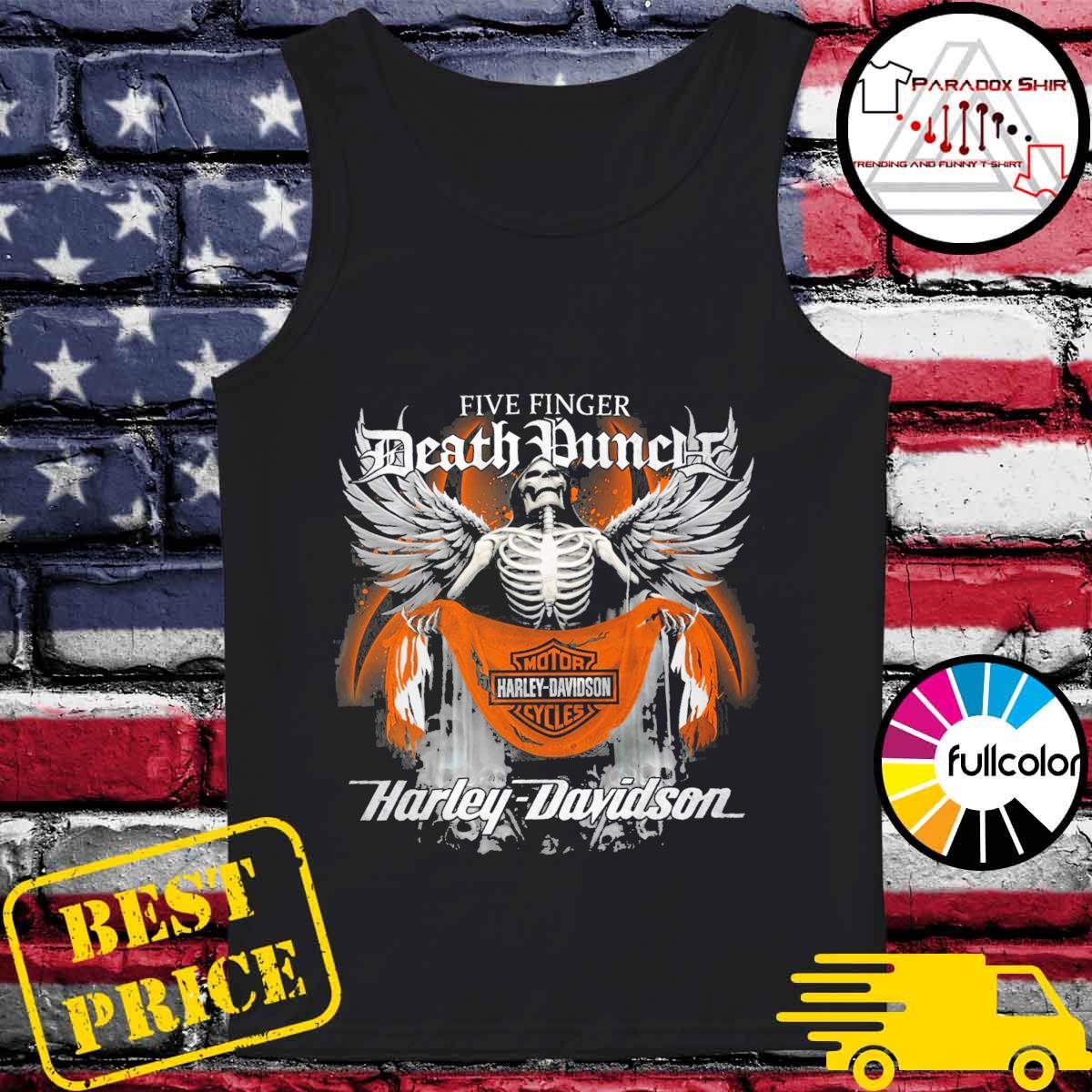 Five Finger Death Punch Motor harley Davidson Cycles Harley Davidson s Tank-top