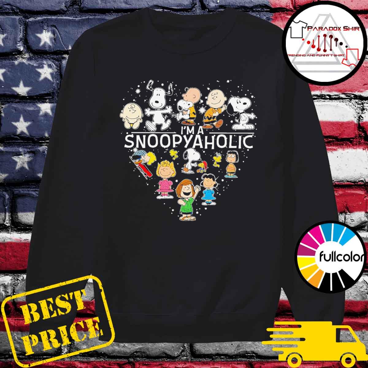 I'm a Snoopyaholic s Sweater
