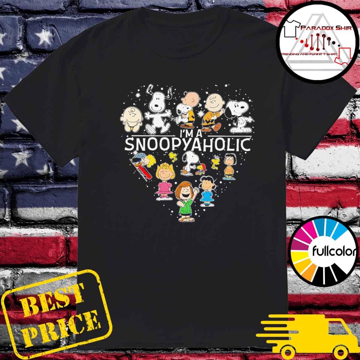 I'm a Snoopyaholic shirt