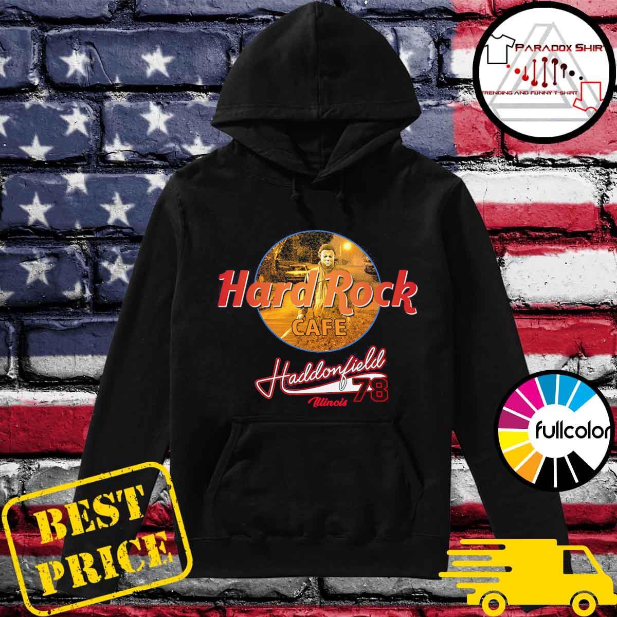 Michael Mayer Hard Rock Cafe Haddonfield illinois 78 s Hoodie