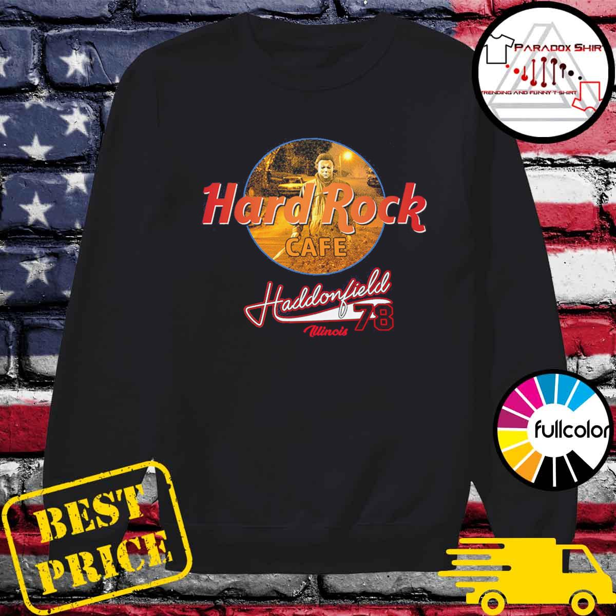 Michael Mayer Hard Rock Cafe Haddonfield illinois 78 s Sweater