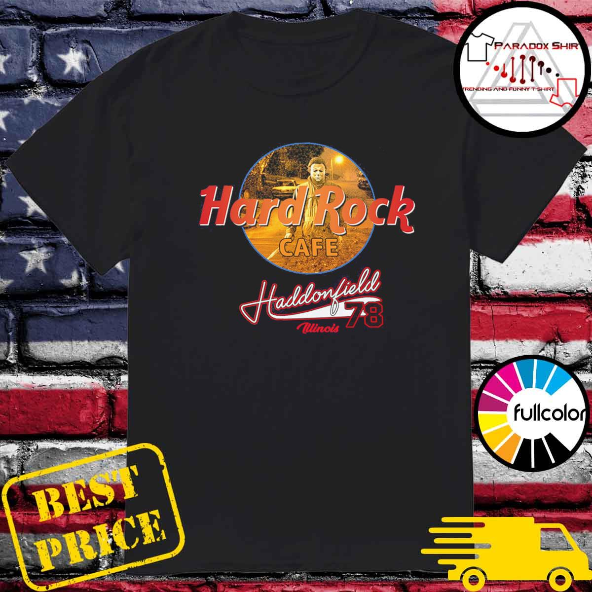 Michael Mayer Hard Rock Cafe Haddonfield illinois 78 shirt