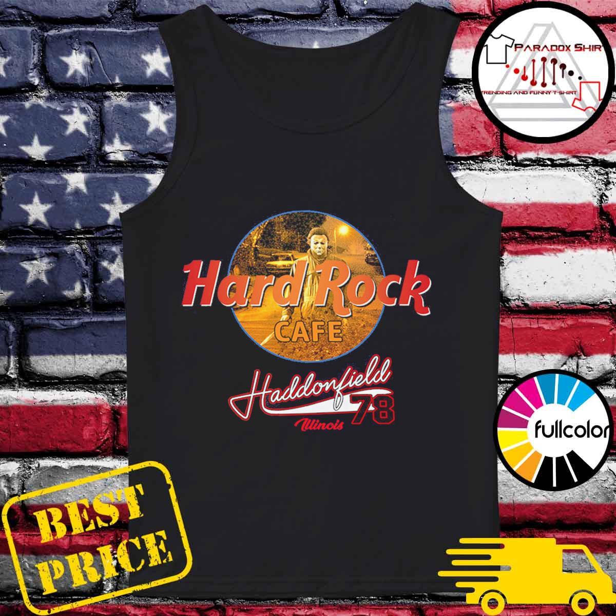 Michael Mayer Hard Rock Cafe Haddonfield illinois 78 s Tank-top