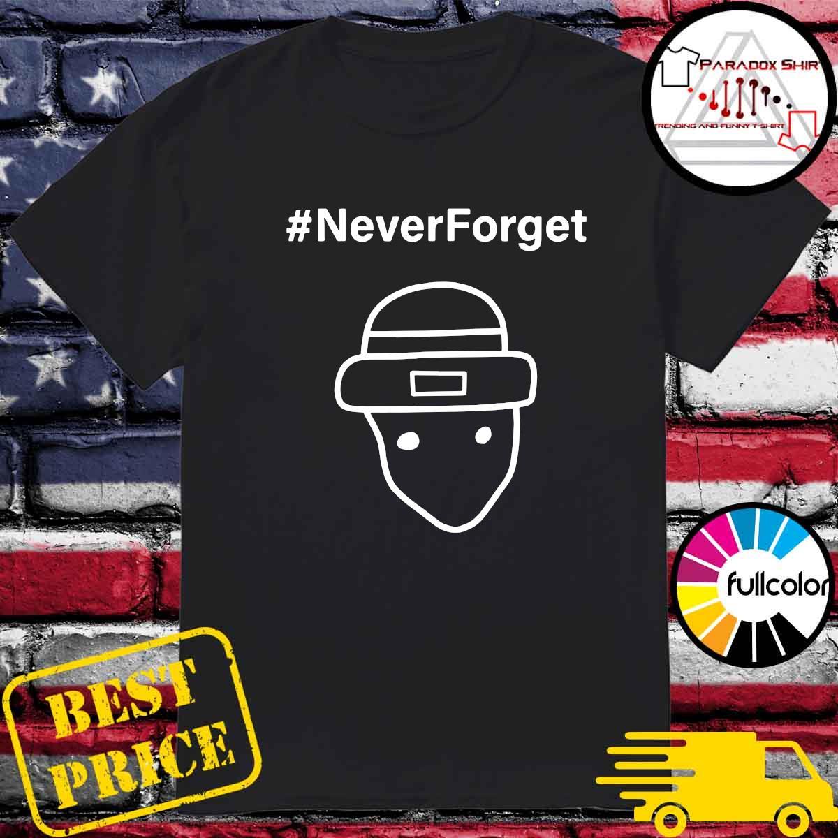 Never Forget Logo Tee Shirt