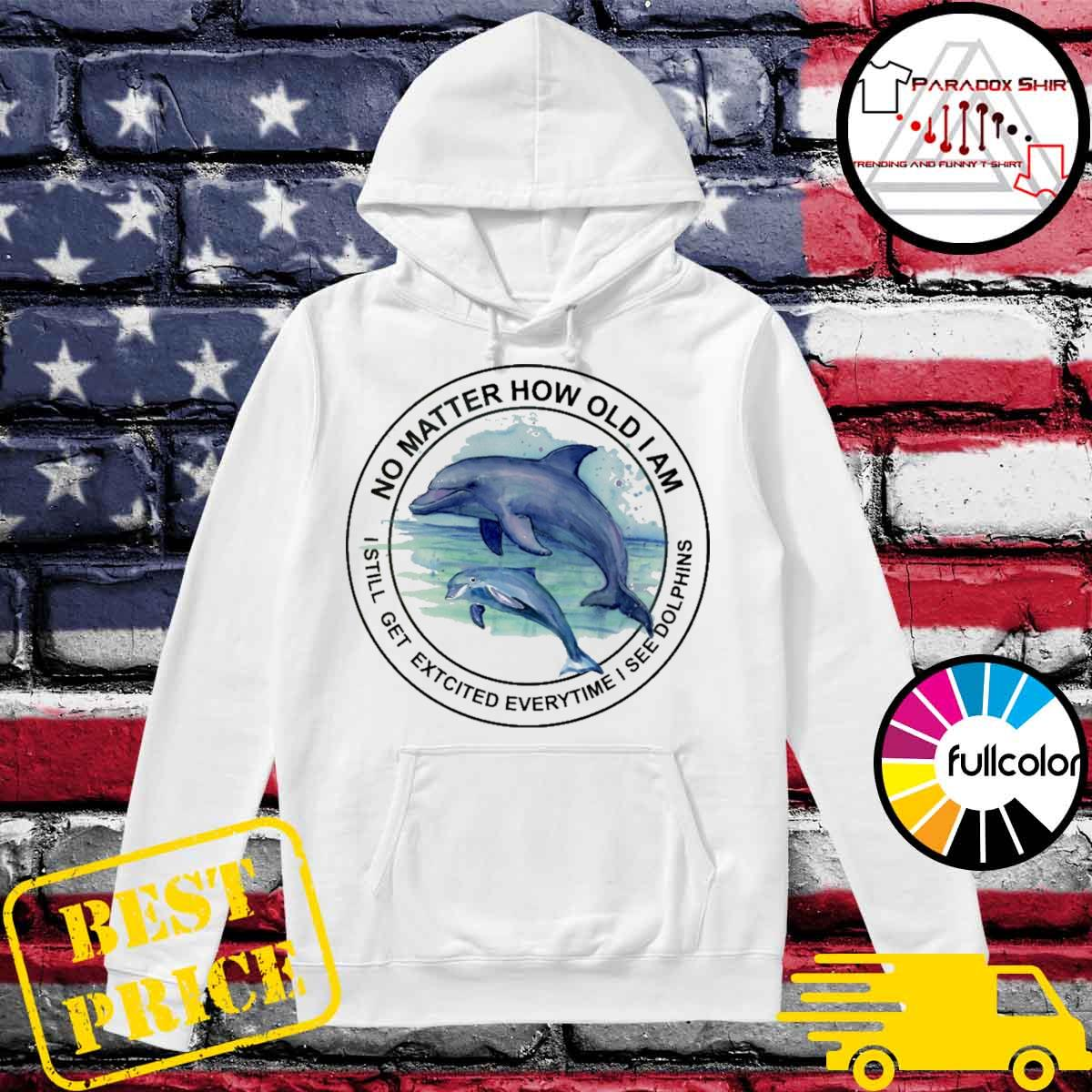 No matter how old I am I still get excited everytime I see Dolphins s Hoodie