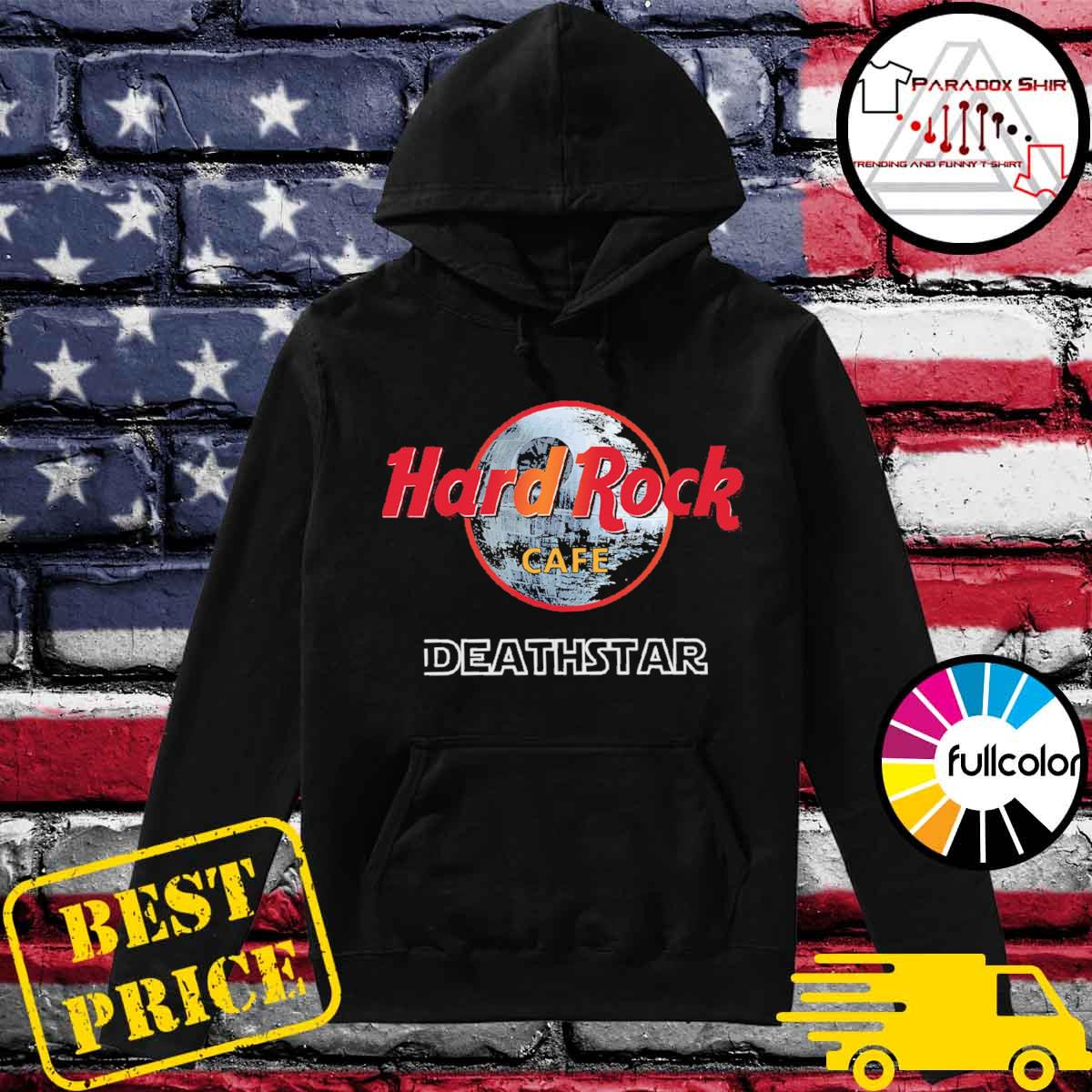Star Wars Hard Rock Cafe Death Star s Hoodie