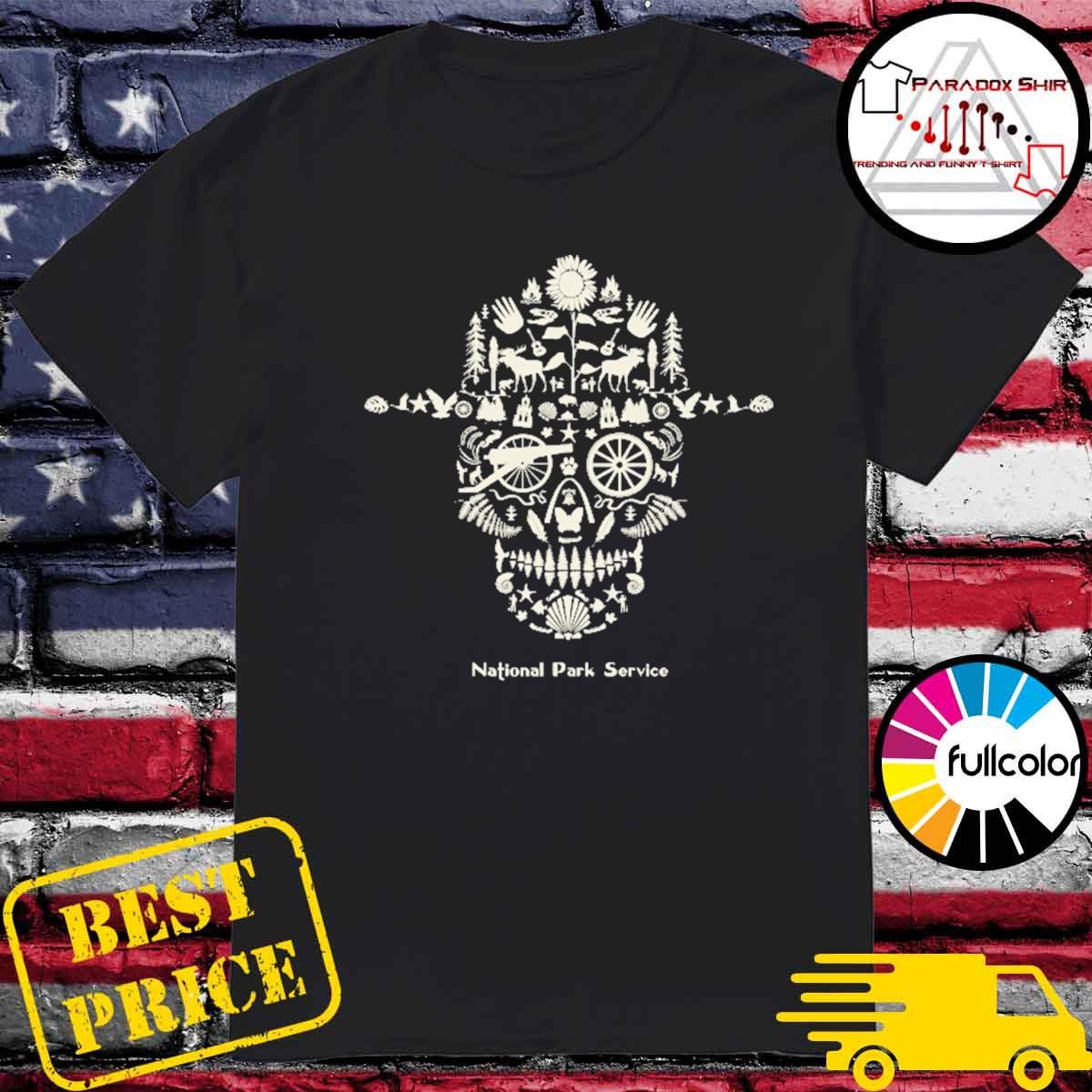 Sugar Skull National Park service shirt