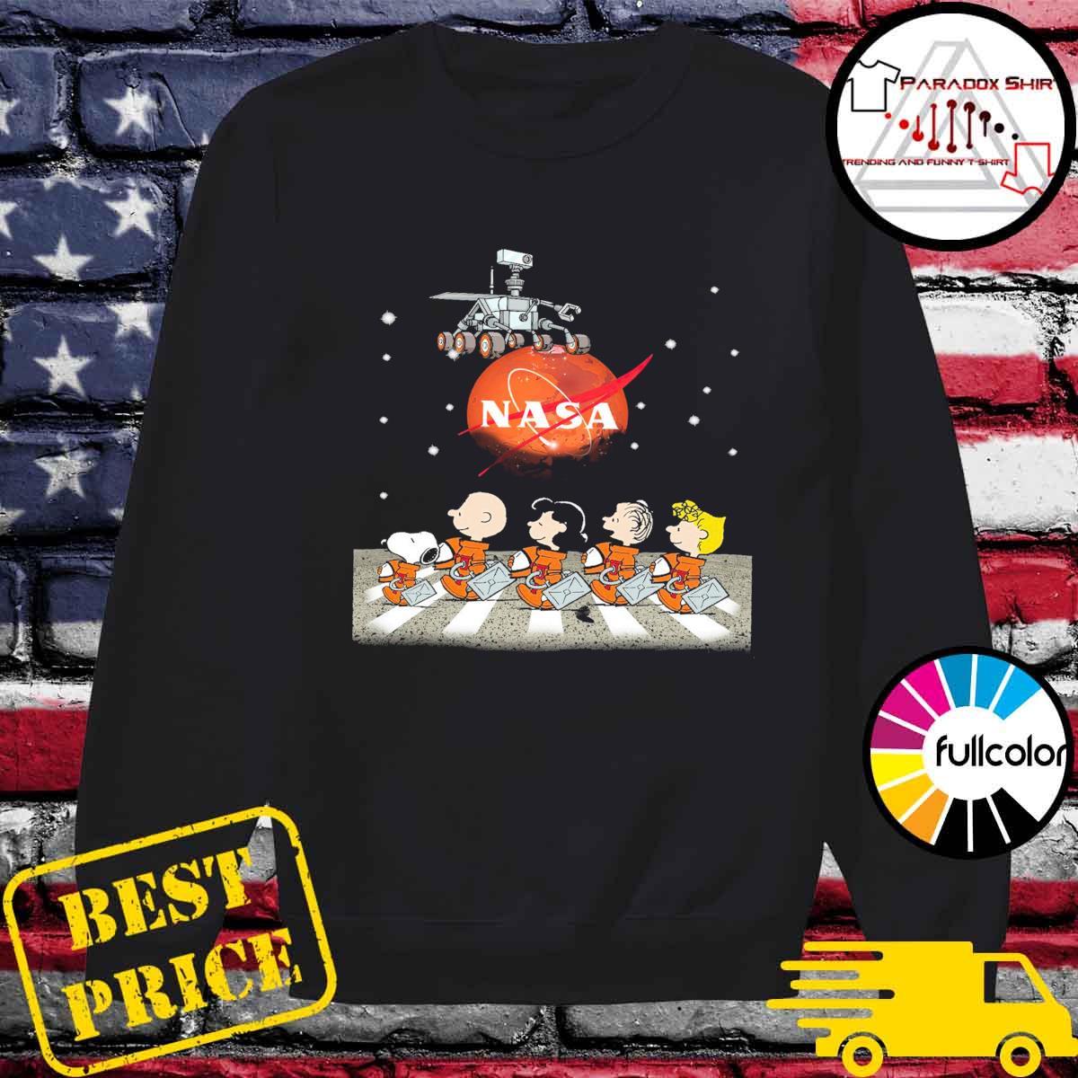 The Peanuts Walking on the Moon Nasa s Sweater