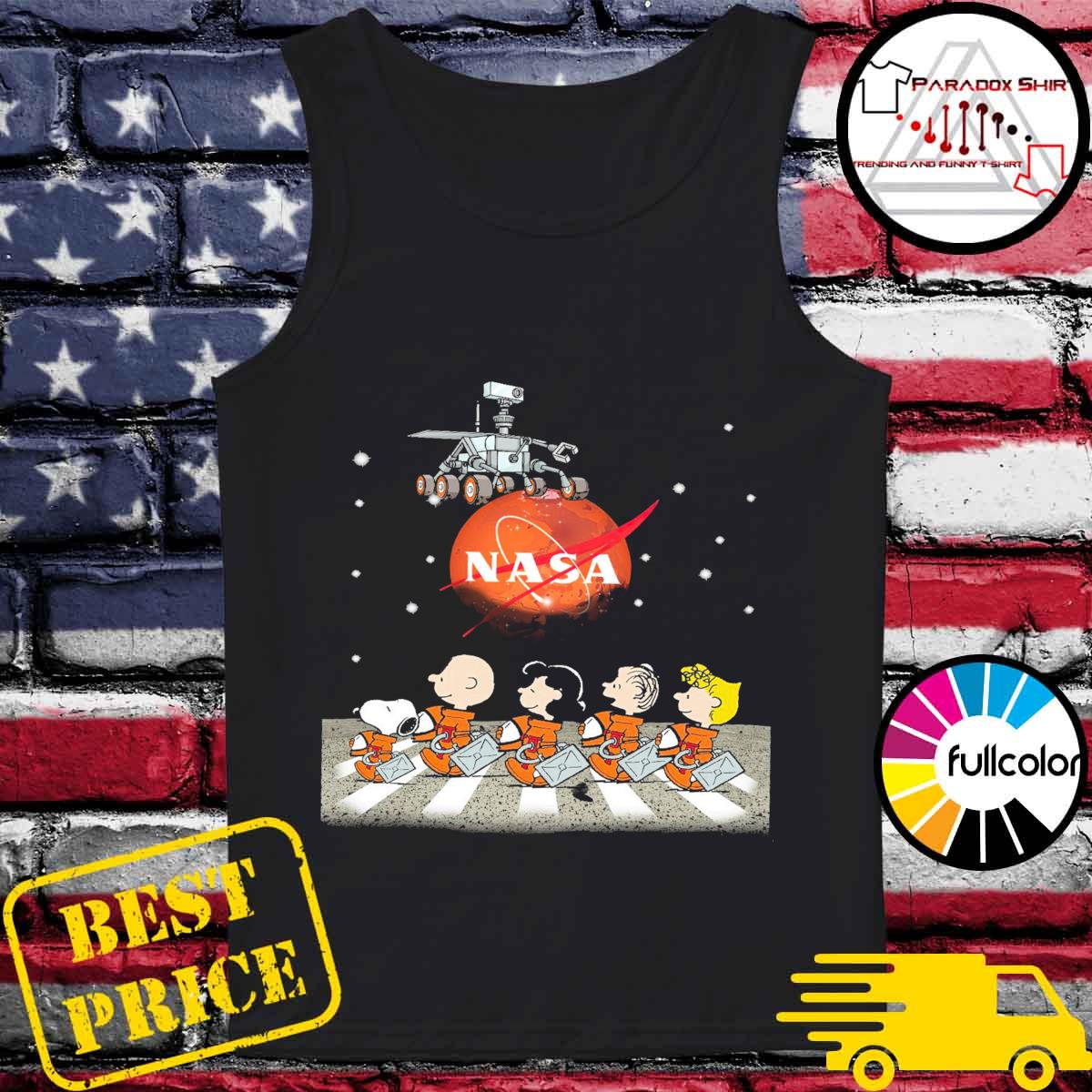 The Peanuts Walking on the Moon Nasa s Tank-top