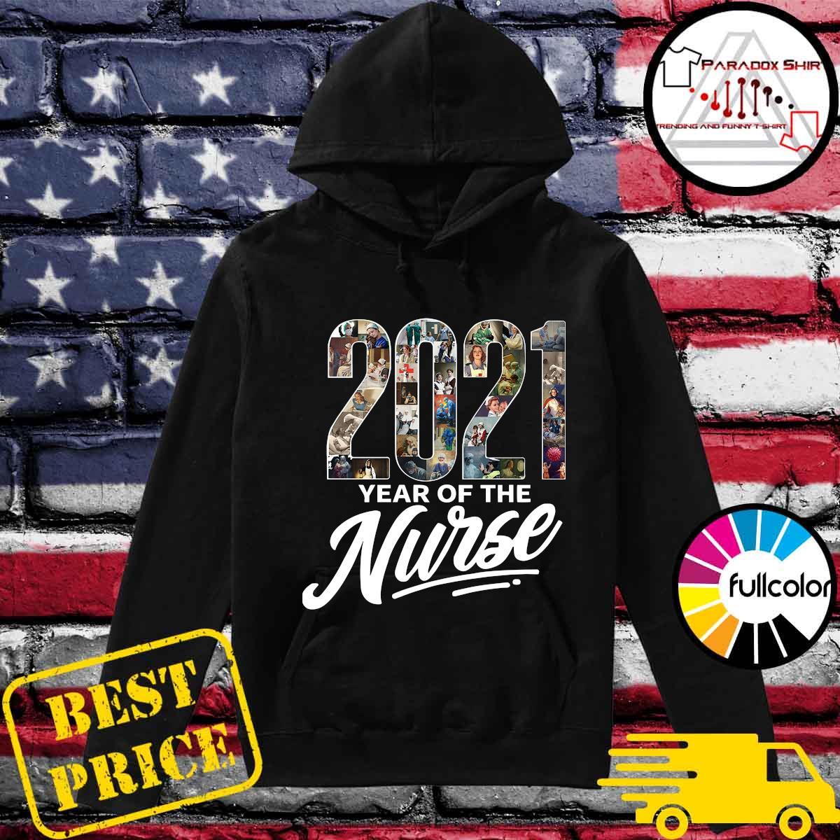 2021 Years Of The Nurse Shirt Hoodie