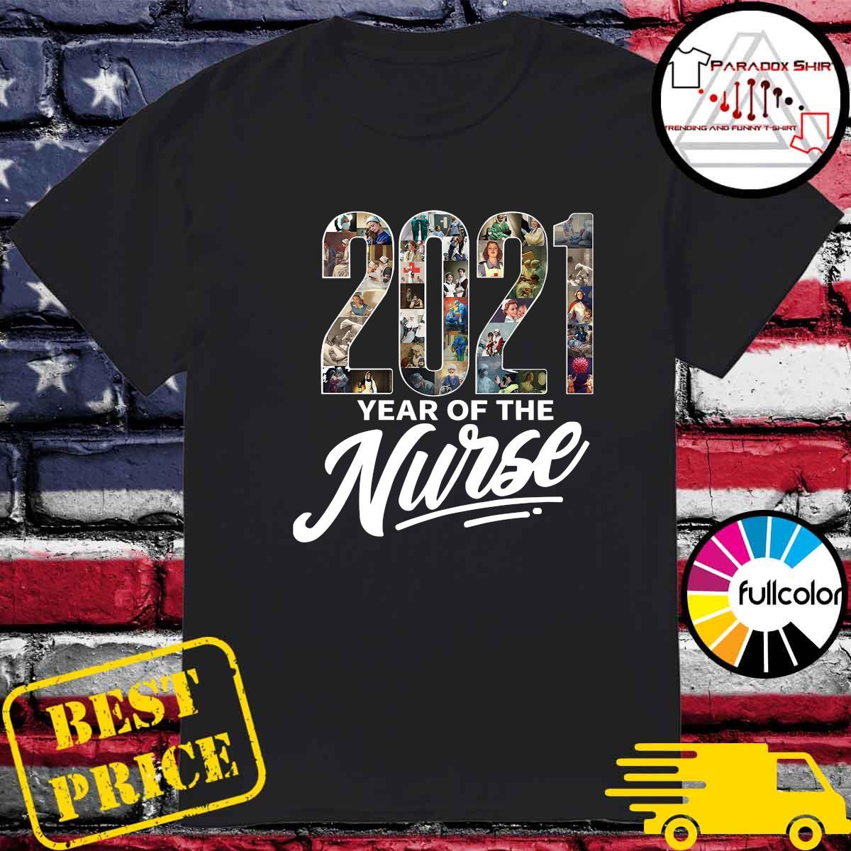 2021 Years Of The Nurse Shirt