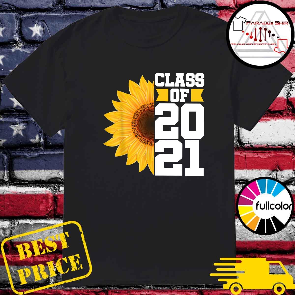 Senior Sunflower Class Of 2021 Shirt