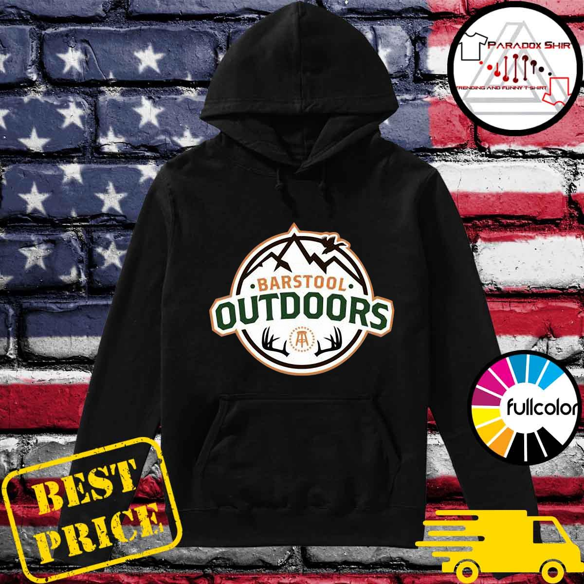 Barstool Outdoors Wilderness Ii Pocket Shirt Hoodie