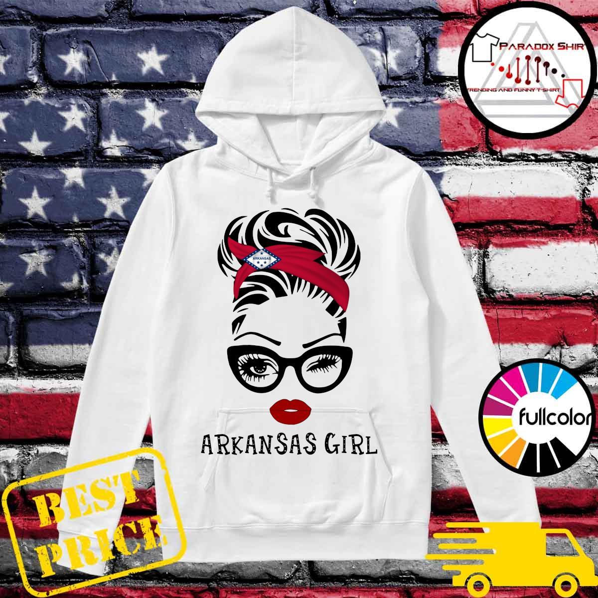 Official Arkansas Girl Shirt Hoodie