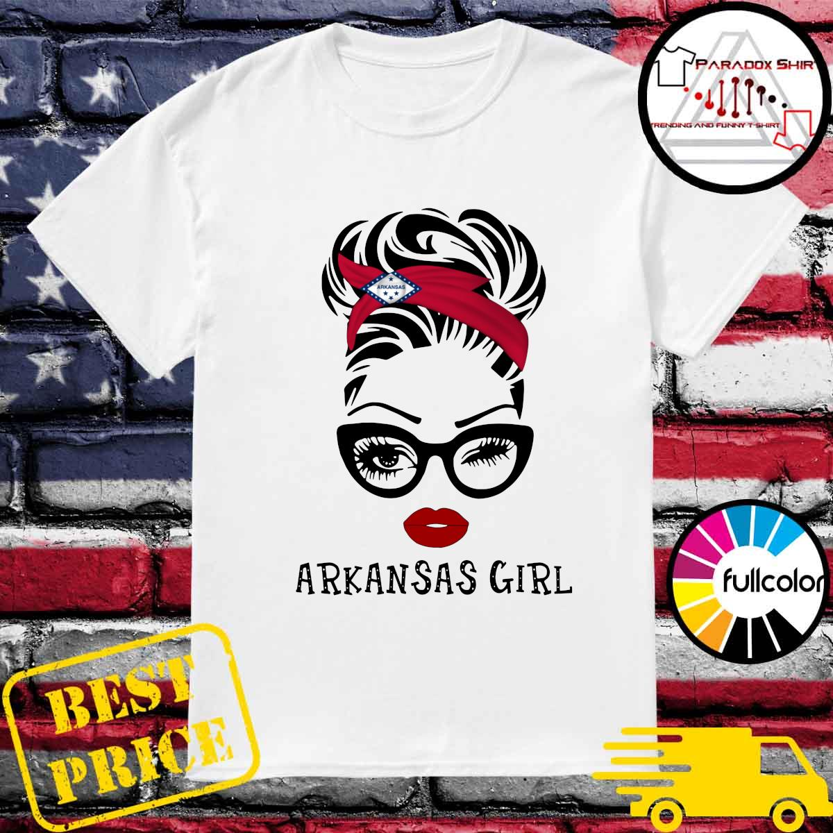 Official Arkansas Girl Shirt