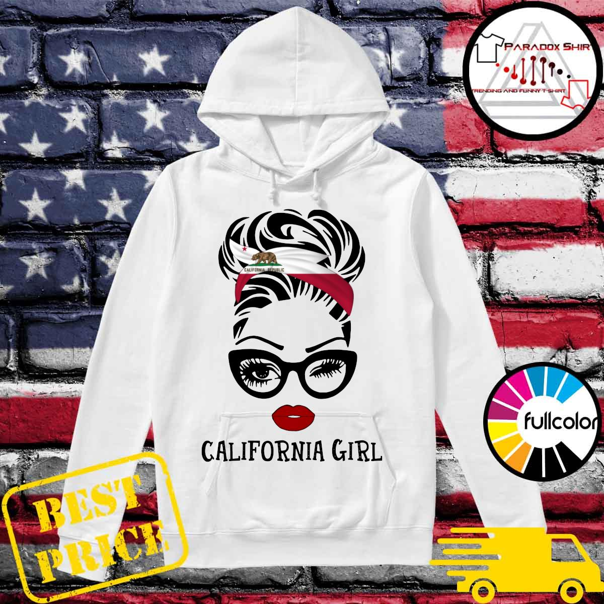 Official California Girl Shirt Hoodie