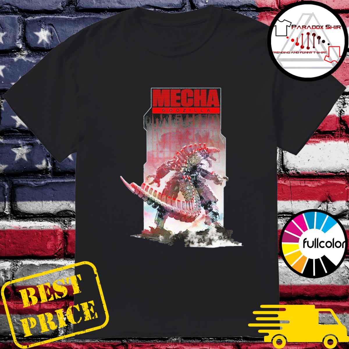 Official Godzilla vs kong – mechagodzilla shirt