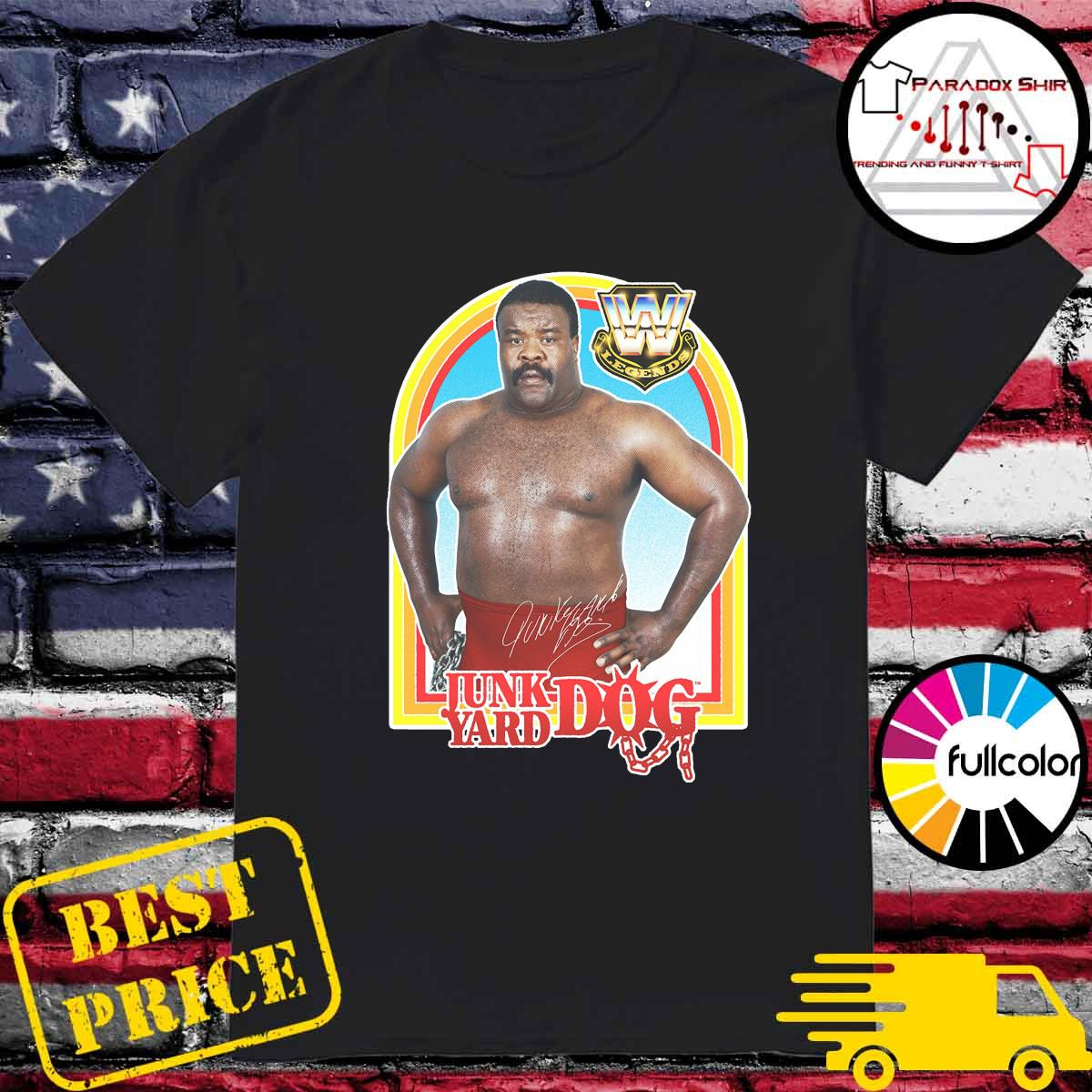 Official Junkyard Dog WWE Legend Signature Shirt