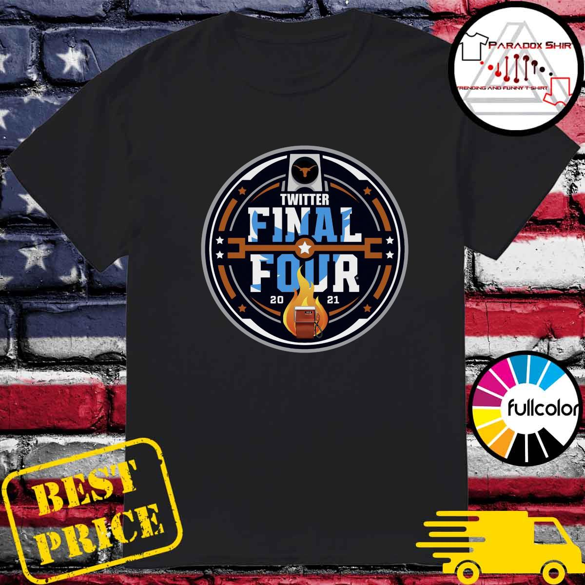 Official Twitter Final Four 2021 Basketball Shirt