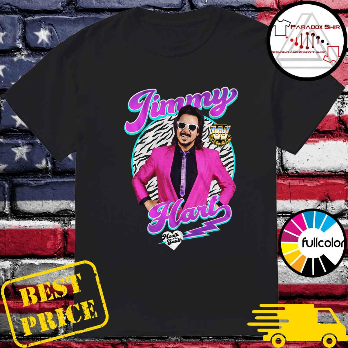 Official WWE Legend Jimmy Hart Mouth Of The South Shirt