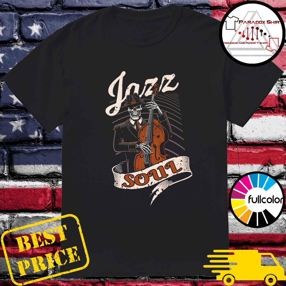 Skeleton Playing Guitar Jazz Soul Shirt