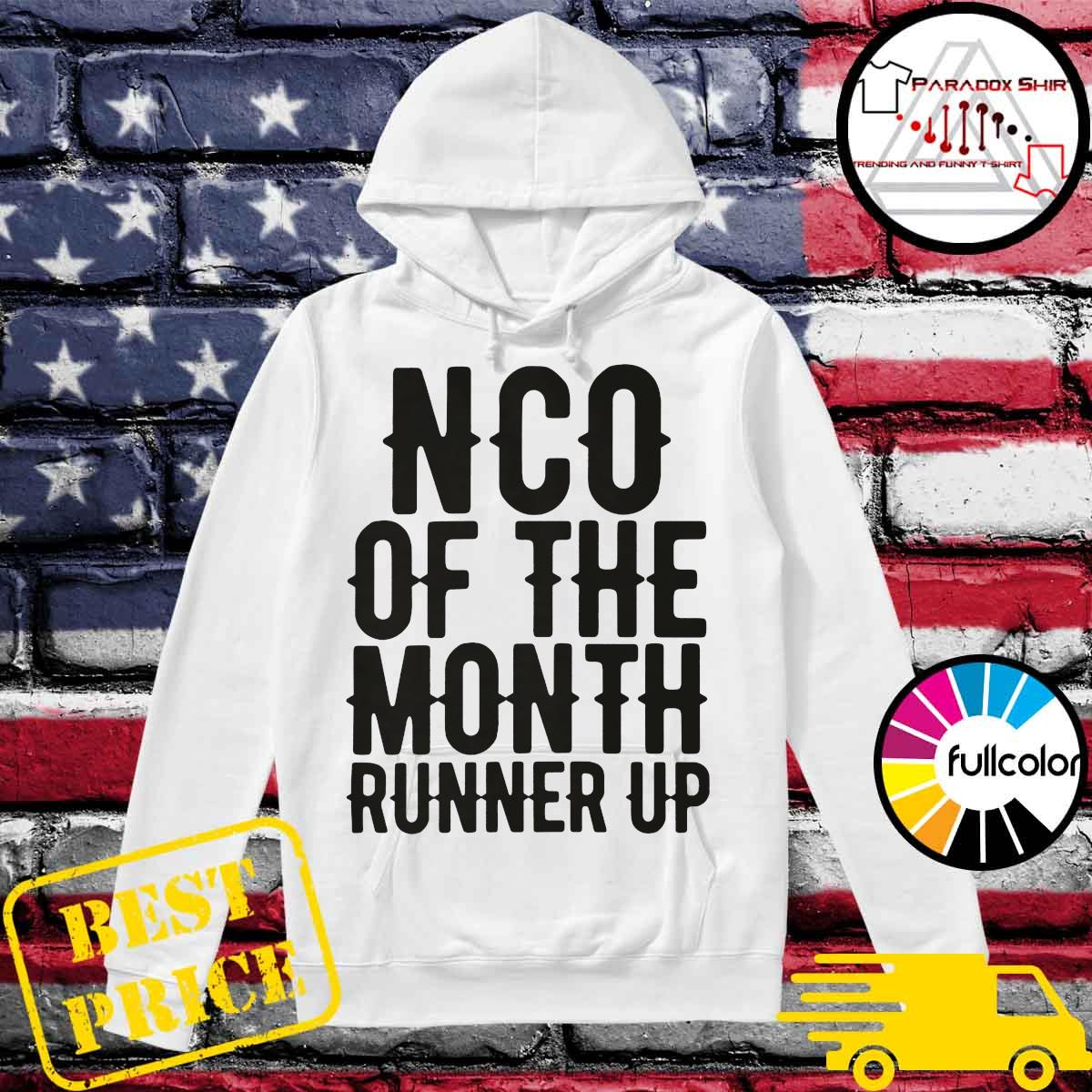 NCO of the month runner up Hoodie