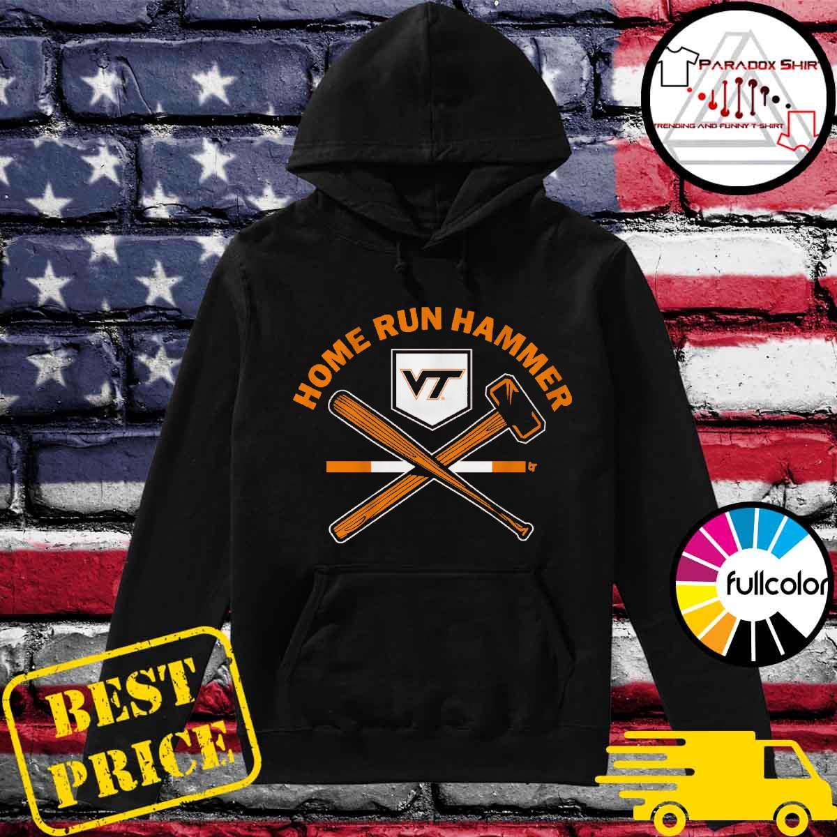 Virginia Tech Baseball Home run hammer Hoodie