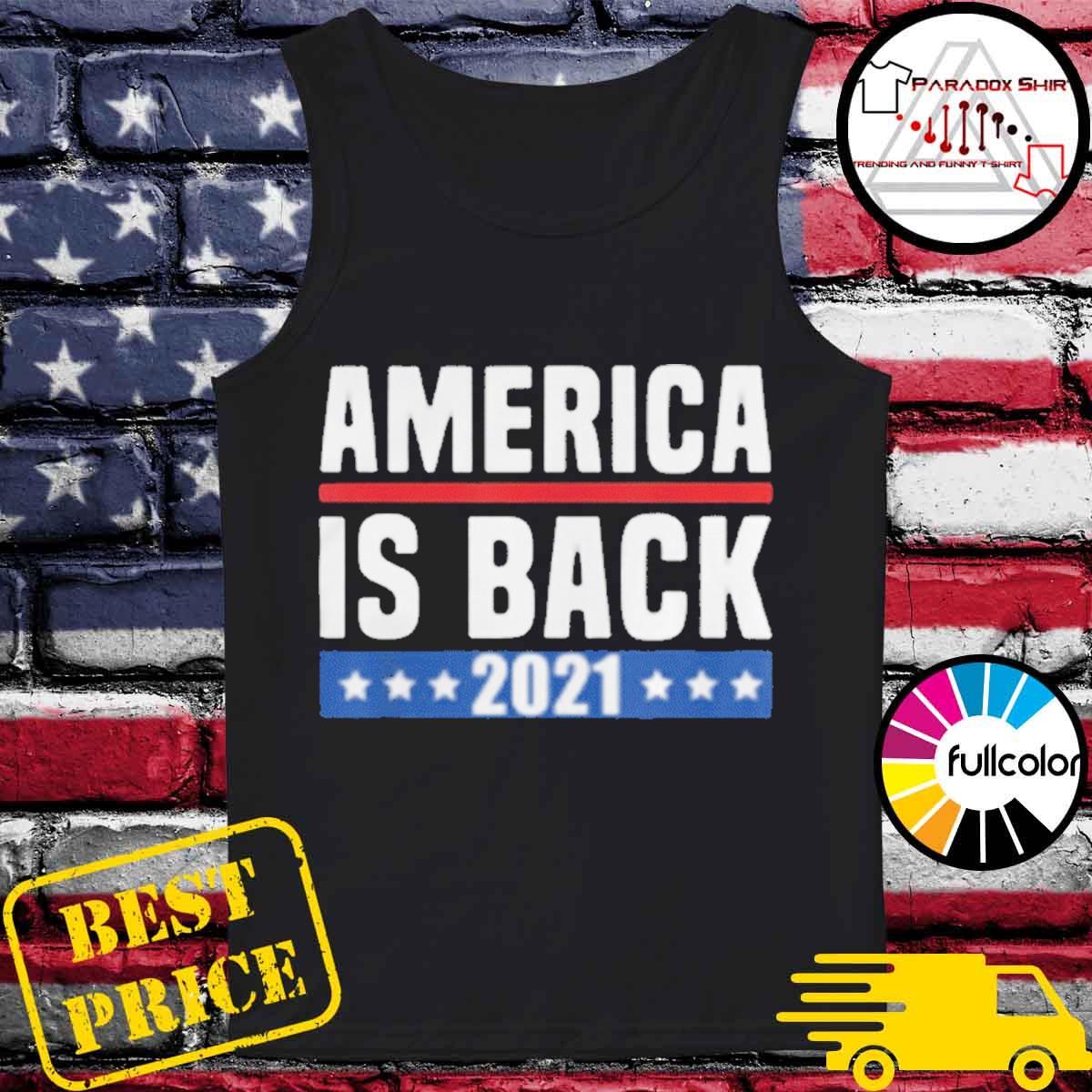 America is back 2021 s Tank-top