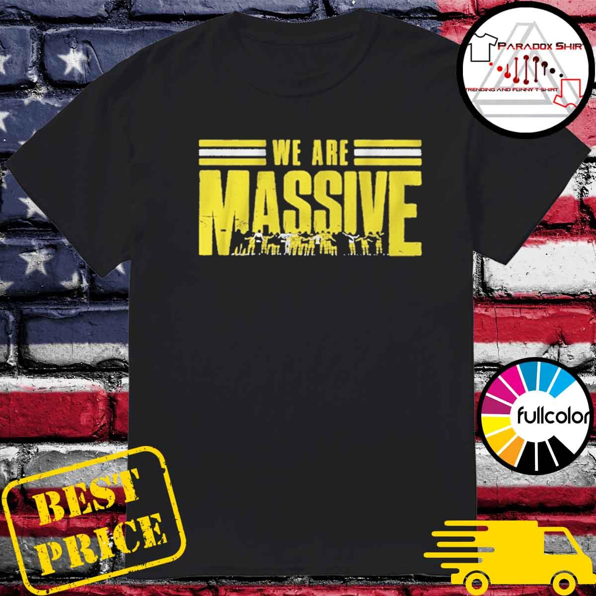Columbus Soccer We are Massive shirt
