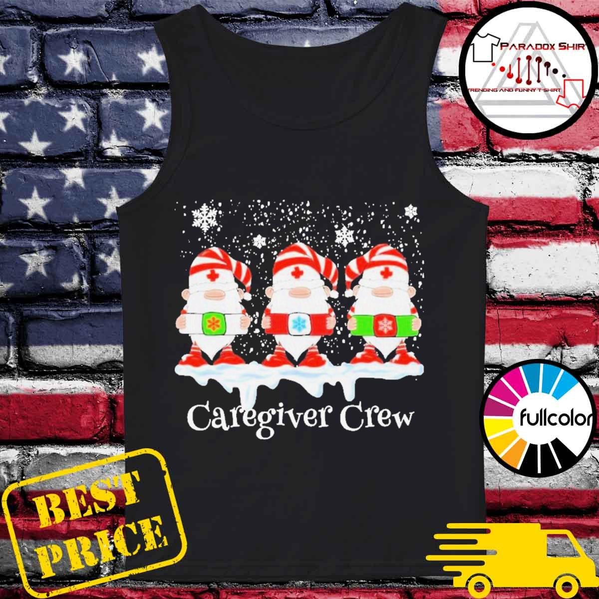 Gnome nurse caregiver crew merry Christmas 2020 s Tank-top