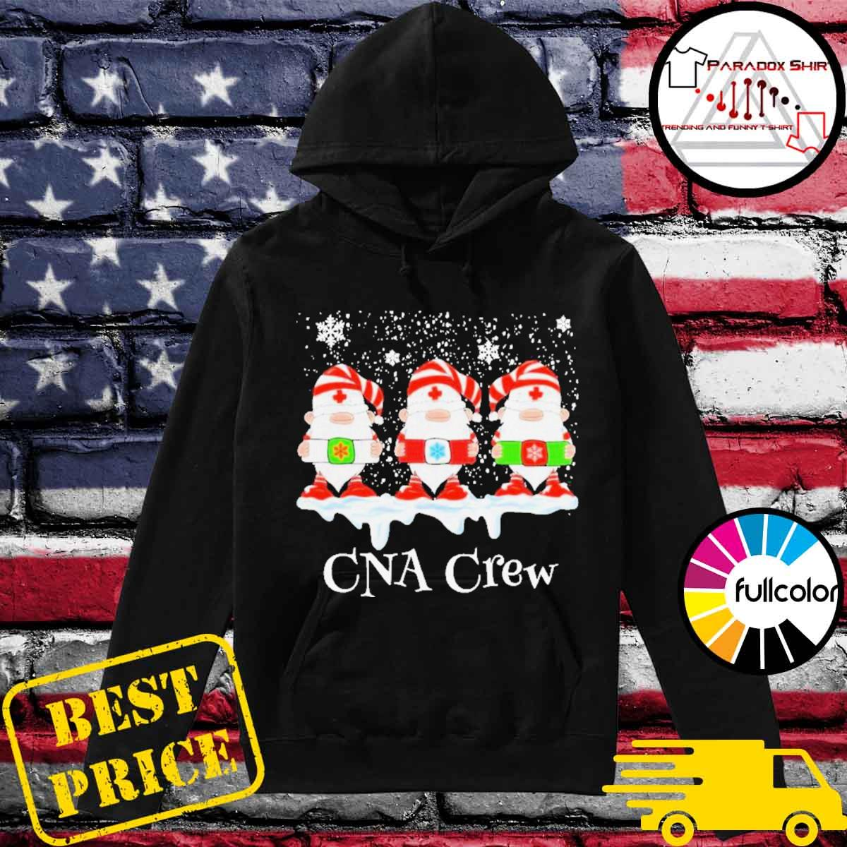 Gnome nurse cna crew merry Christmas 2020 s Hoodie