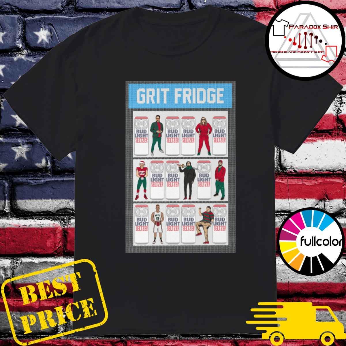 Grit fridge bud light seltzer shirt