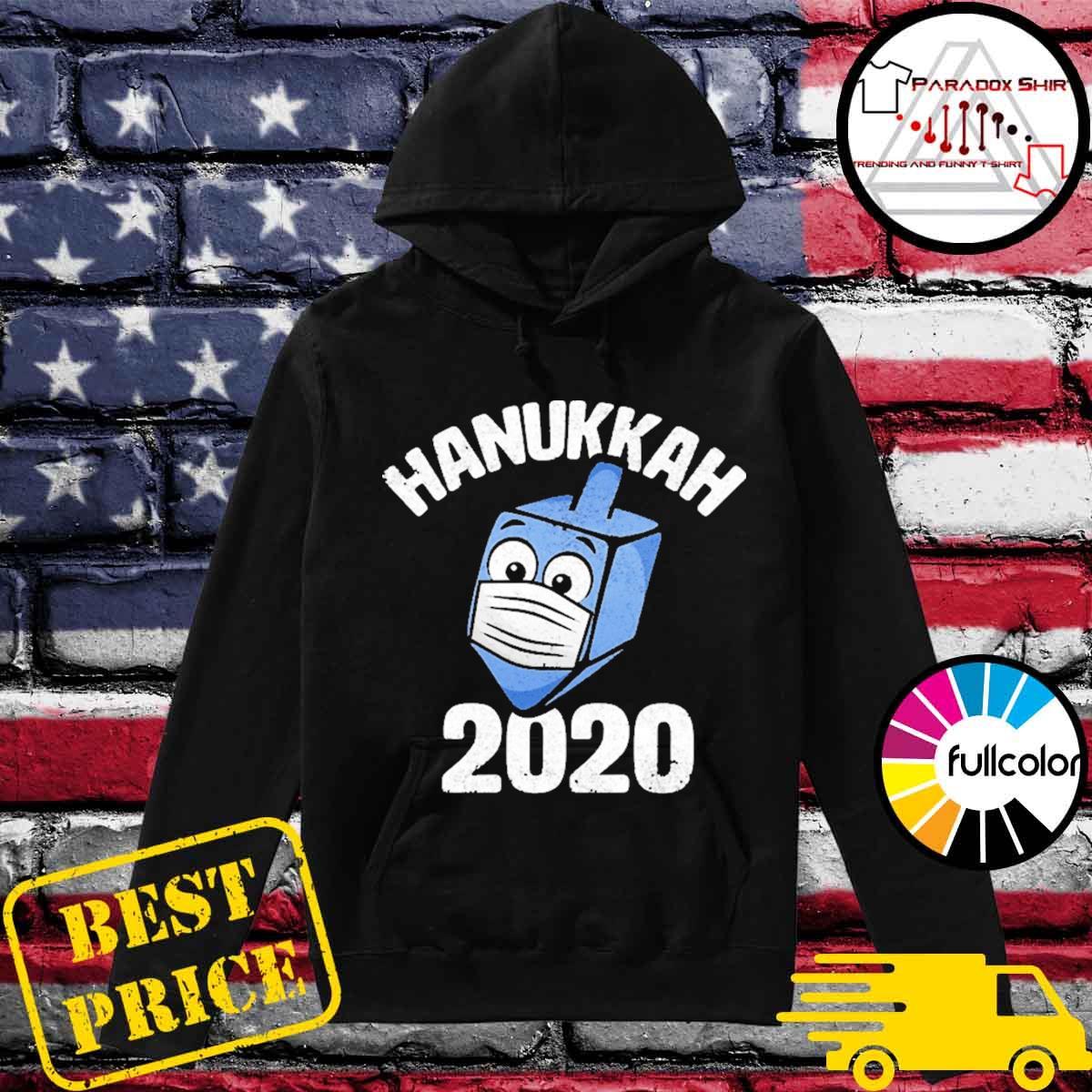 Hanukkah 2020 dreidel wearing face mask s Hoodie