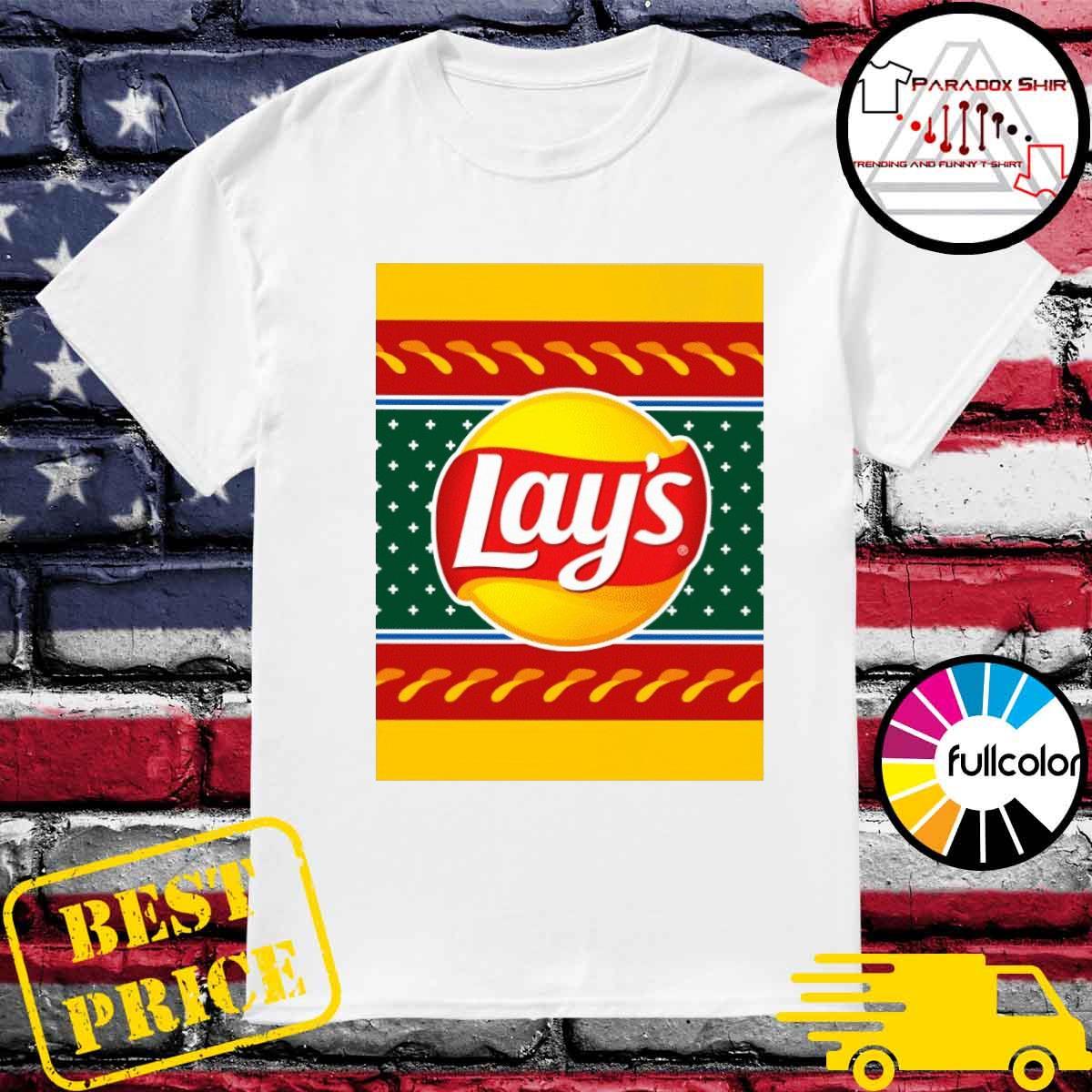 Lays christmas 2021 shirt