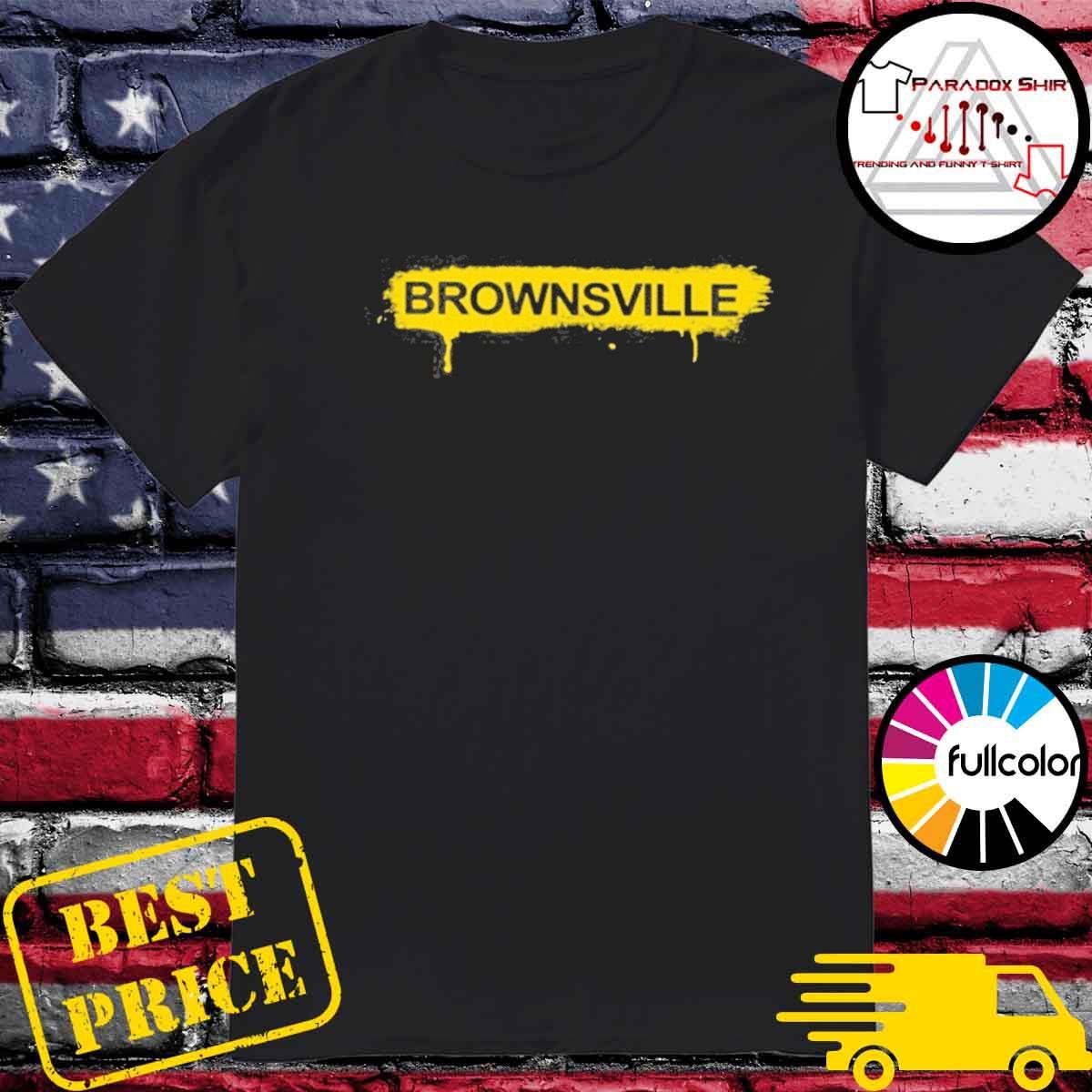 Mike Tyson Brownsville yellow shirt