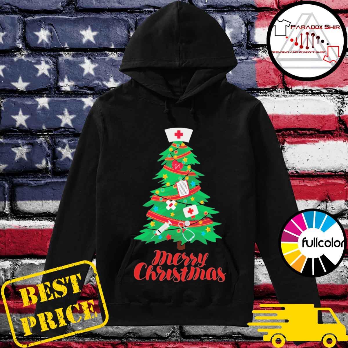 Nurse Christmas tree Merry Christmas s Hoodie