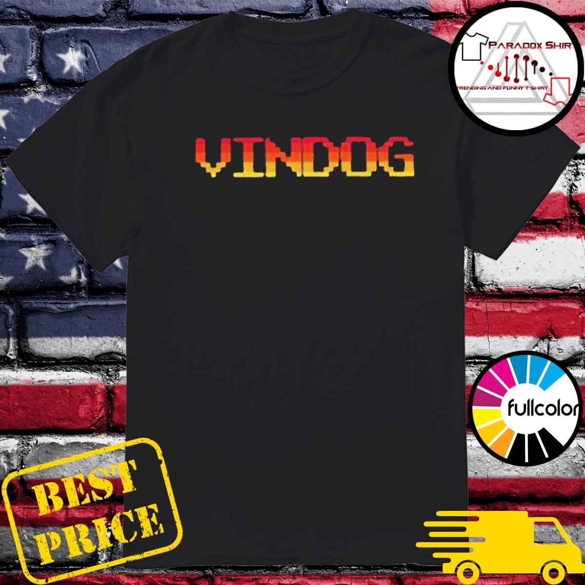Vindog Retro shirt