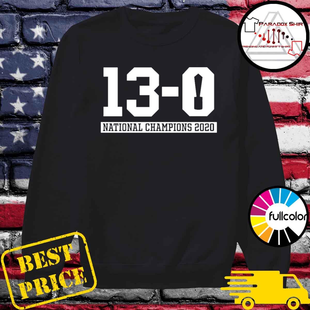 13-0 Alabama National Champions 2021 Shirt Sweater