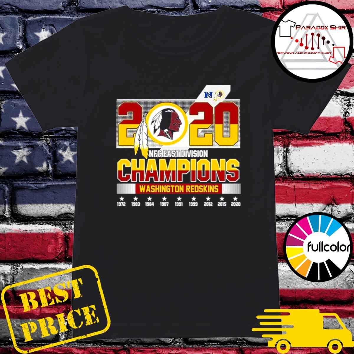 2020 NFC East Division Champions Washington Redskins s Ladies