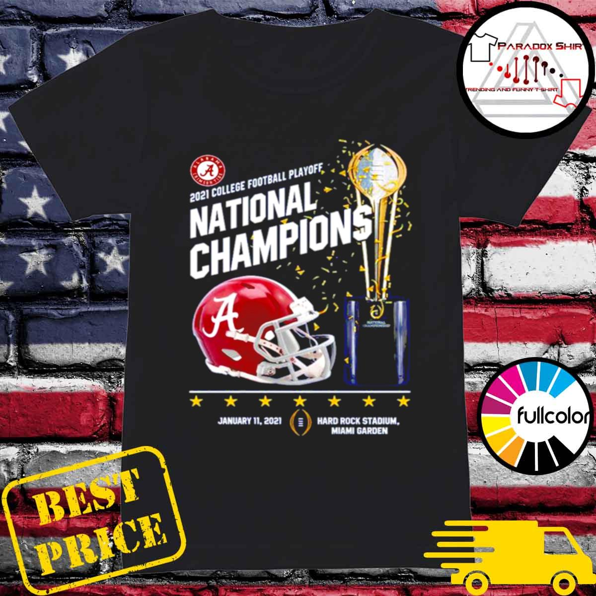 Alabama Crimson Tide 2021 college football playoff National Champions Alabama 52 Ohio State 24 s Ladies