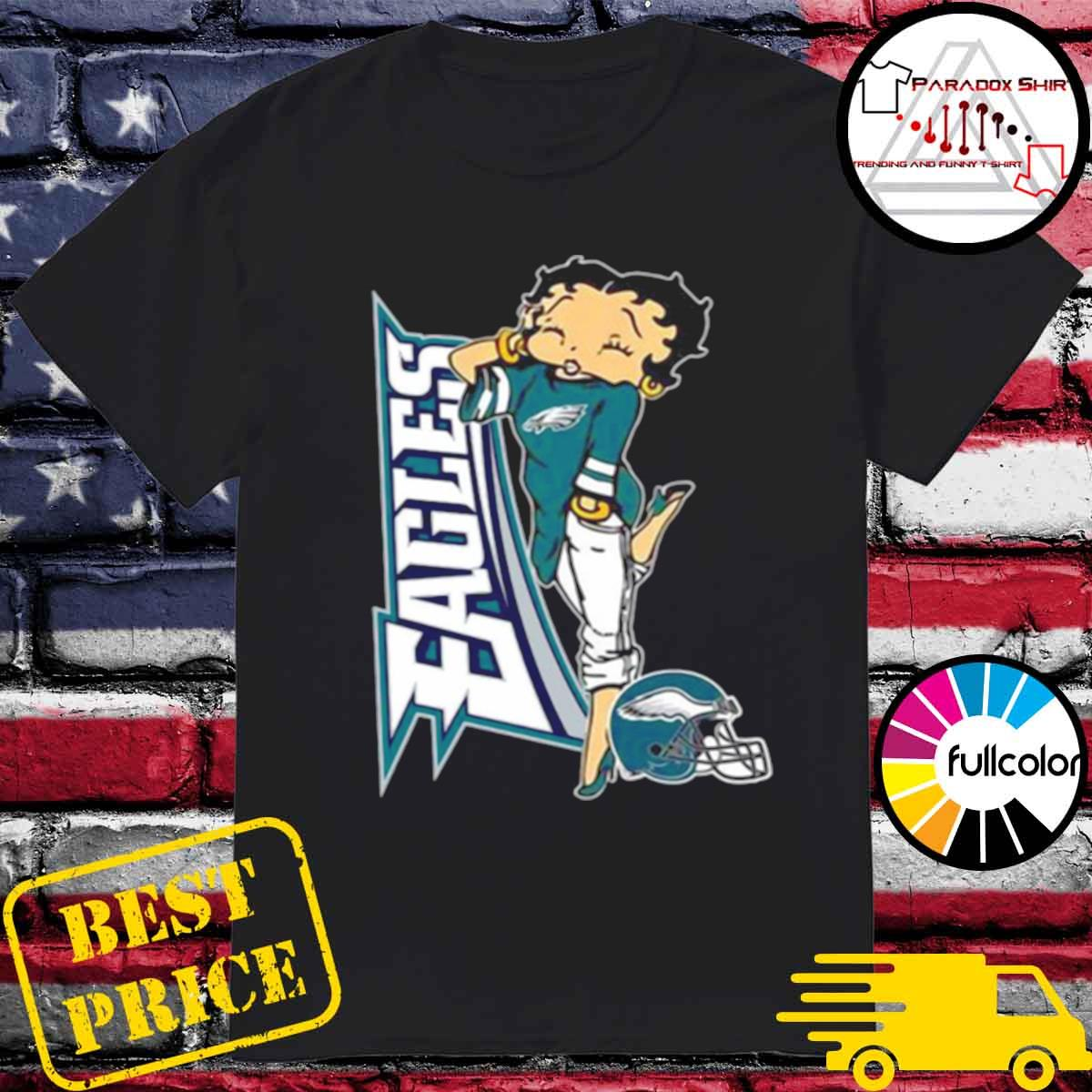 Betty Boop Philadelphia Eagles Football shirt