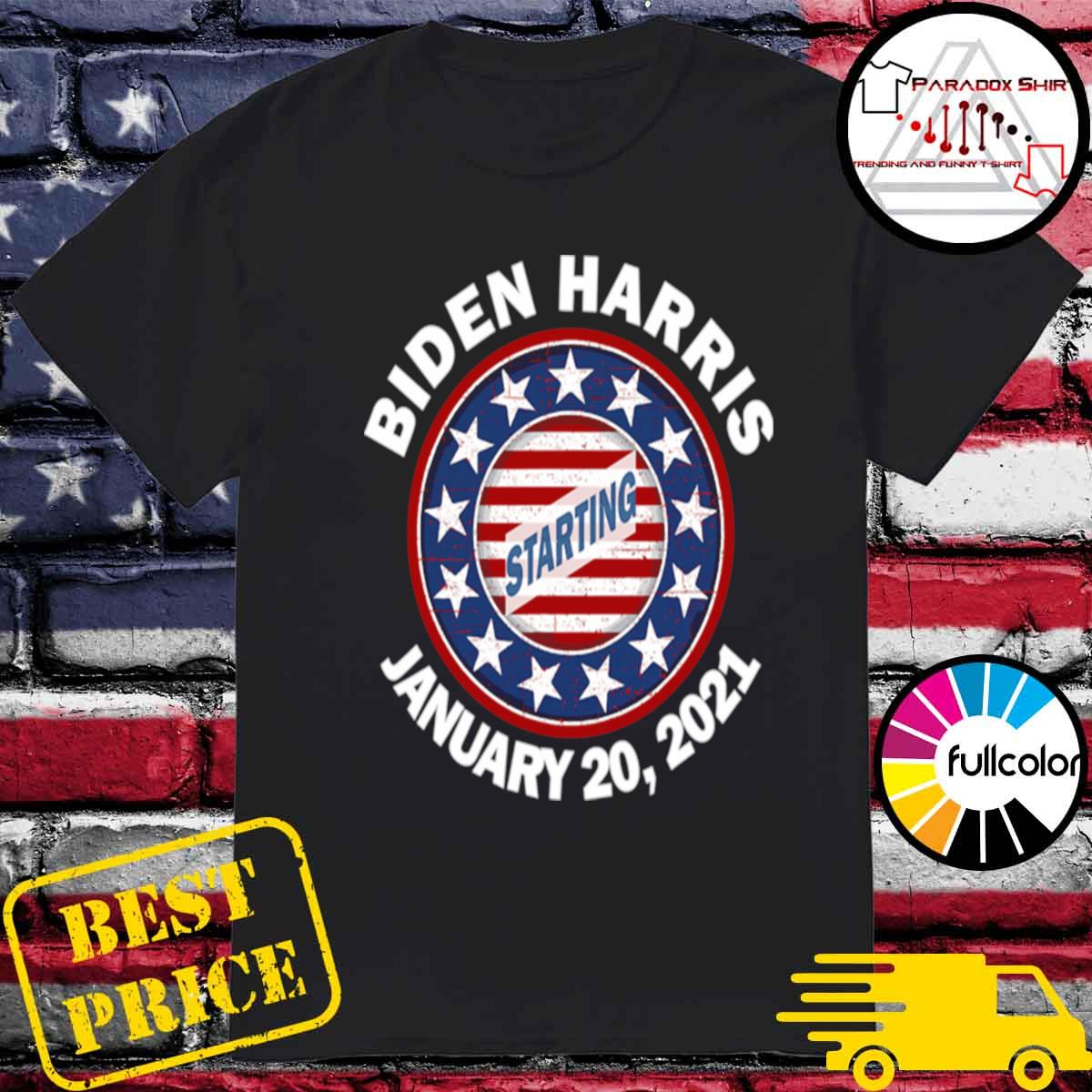 Biden Harris January Inauguration American Flag shirt