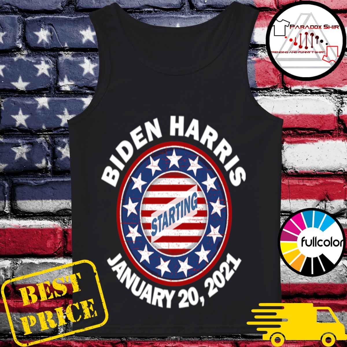 Biden Harris January Inauguration American Flag s Tank-top
