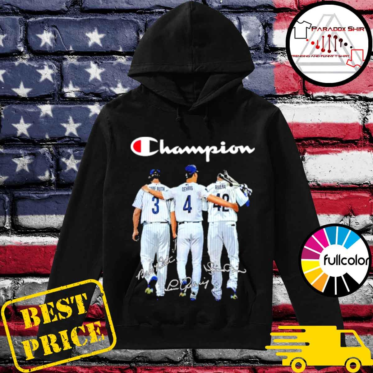 Champion babe ruth and gehrig and rivera s Hoodie