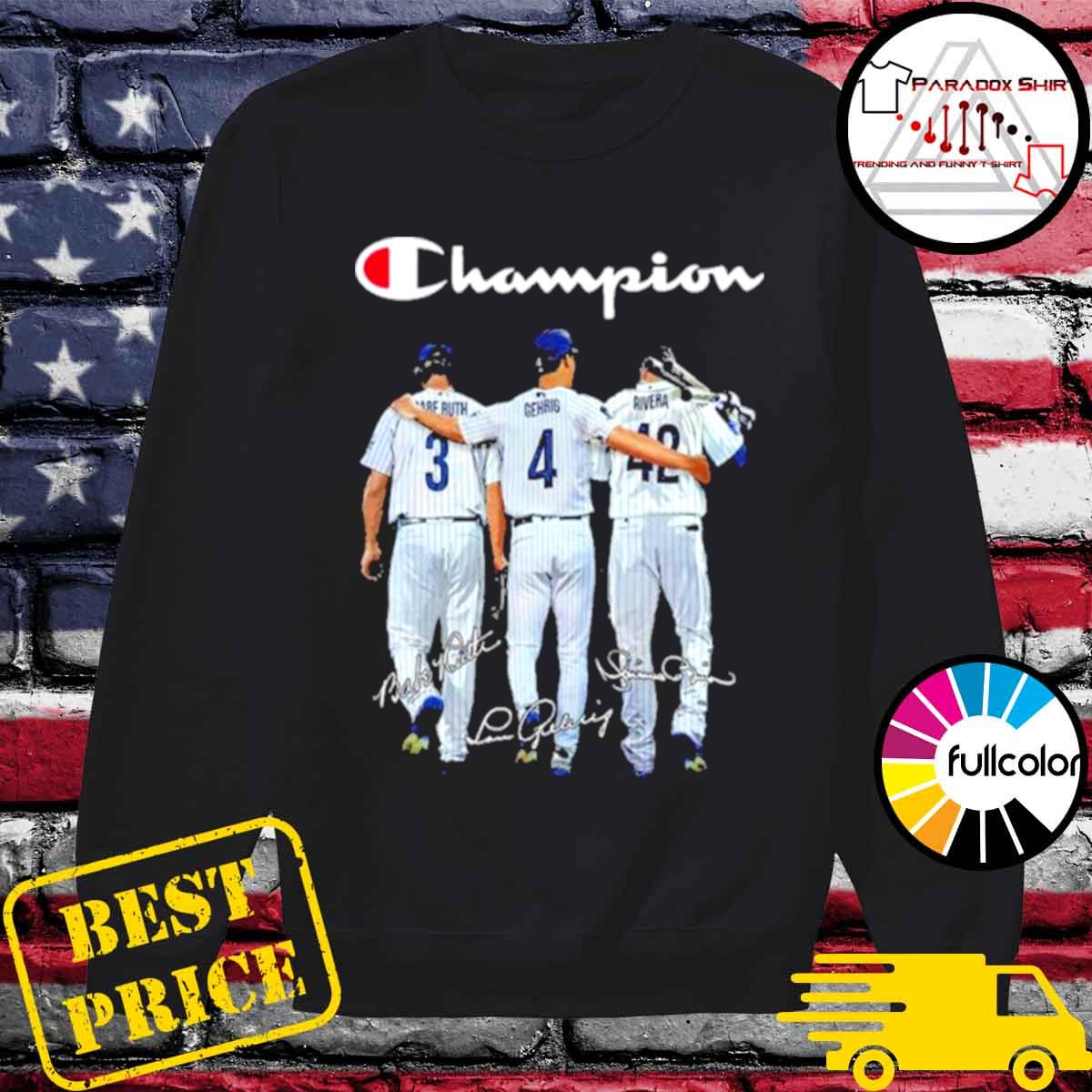 Champion babe ruth and gehrig and rivera s Sweater